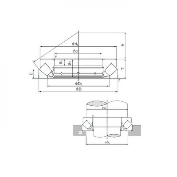 NTH-5280 KOYO Dragkullager