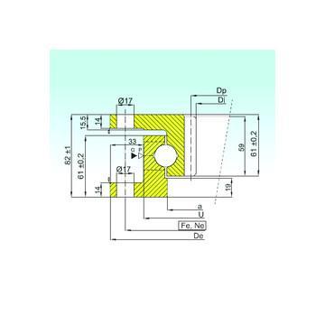 53211 U 211 ISB Dragkullager